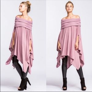 NEW!  OFF THE SHOULDER TUNIC